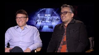 AVENGERS: ENDGAME Interview: Russo Brothers Talk Best Fan Theories, Which Actors Ask For Spoilers!