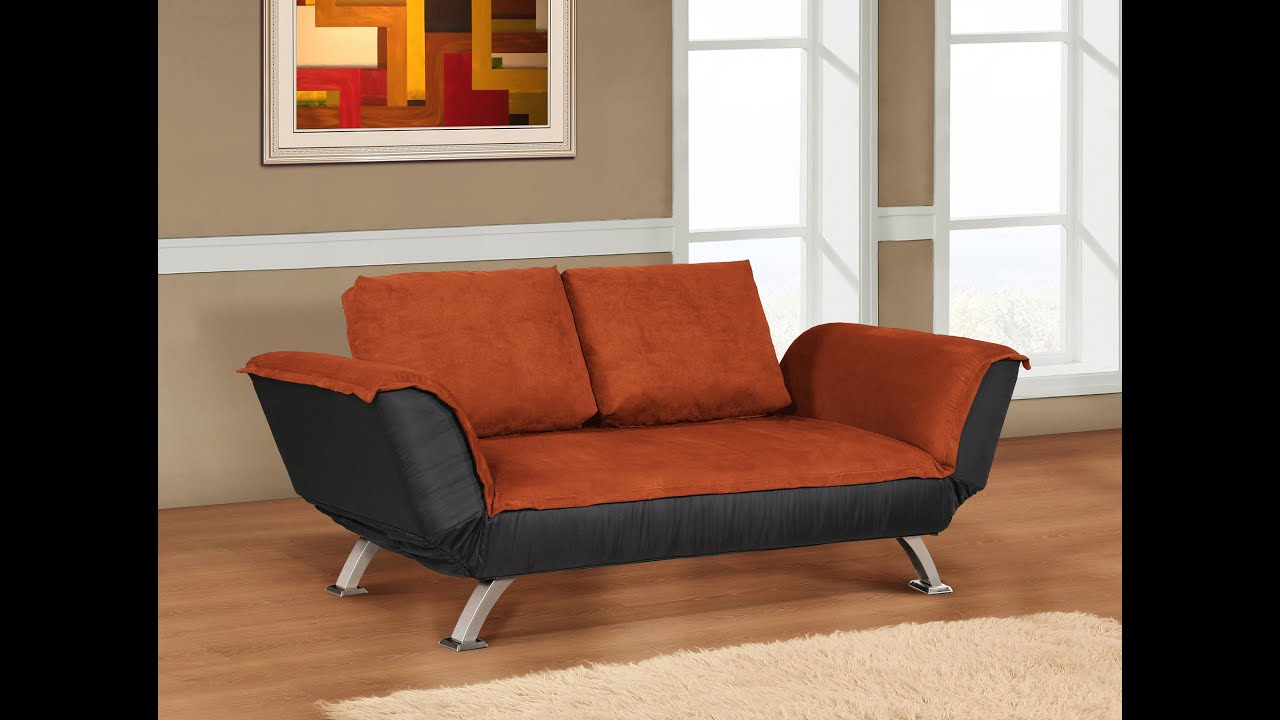 love shop lrg dillon loveseat wallhugger futon warm cherry wallhugging seat the frame