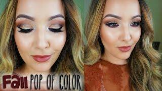 Fall Pop Of Color | Anastasia Tamanna Palette Tutorial
