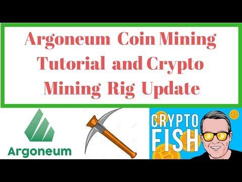 Argoneum Mining Tutorial And Mining Rig Update