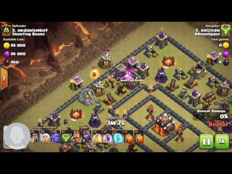 Clash of Clans: worst war attack ever my defense