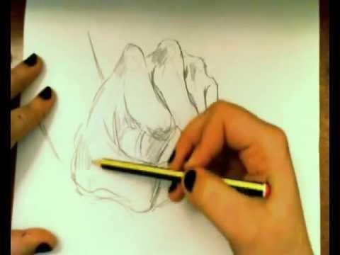 Dibujar manos fcil  Draw Hands easy  YouTube