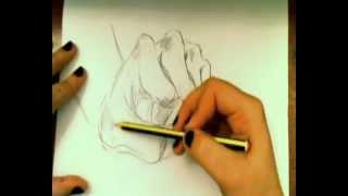 Dibujar manos (fácil) // Draw Hands (easy)
