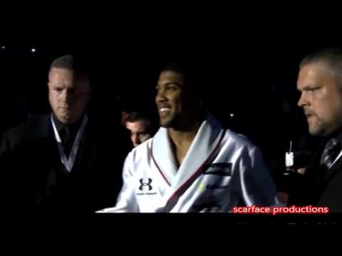 Anthony Joshua Ring Walk - Giggs Talking da Hardest