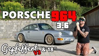 PORSCHE 964 Carrera 2 / Gepfeffert V3 & 18 Zoll BBS Le Mans