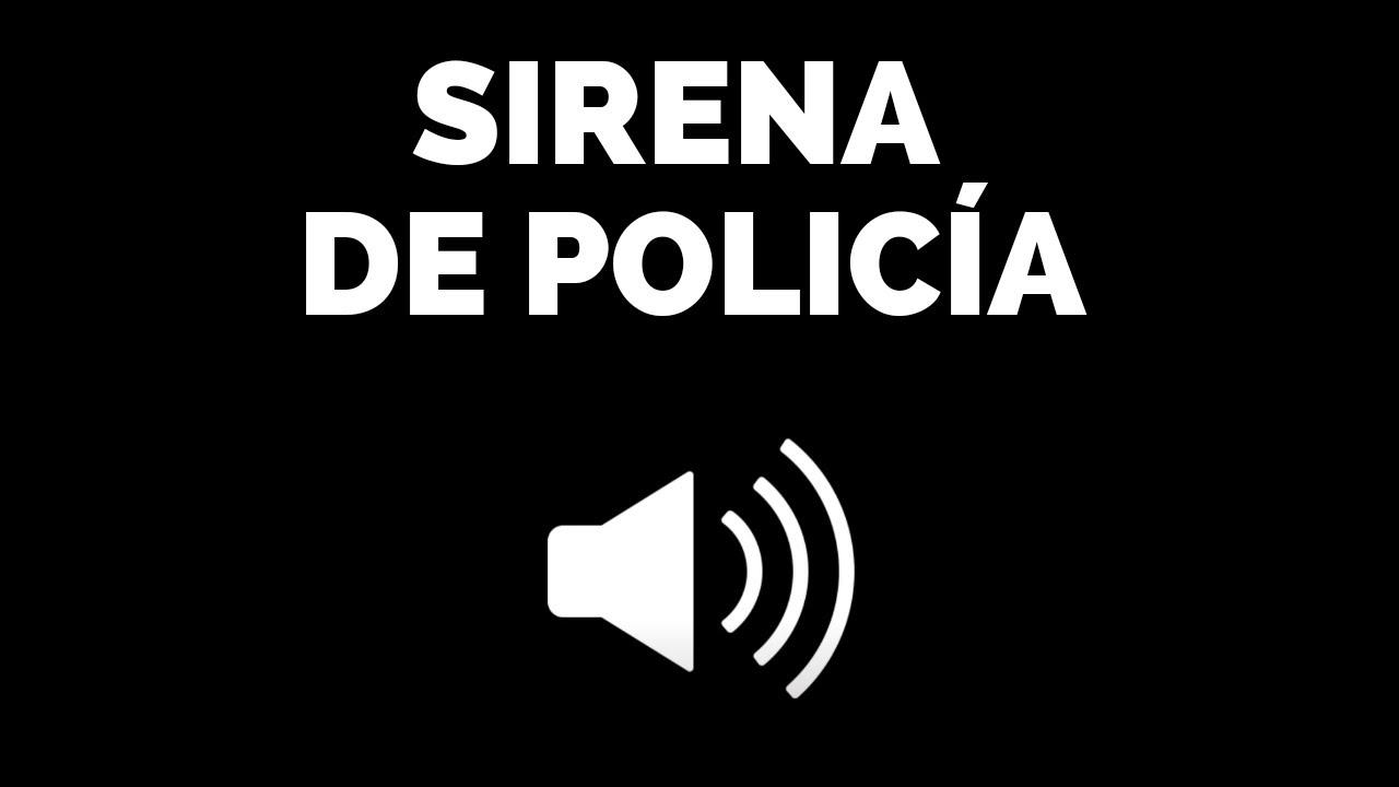 sonido sirena de policia descargar gratis