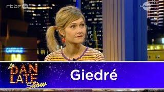 Giedré dans le Dan Late Show