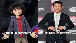Big Hero 6 Characters And Voice Actors