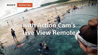 Sony | Action Cam | Your Action Your Way - Live View Remote