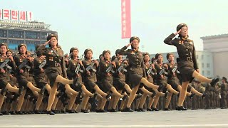 Video North Korea's Slow Motion Military - North Korea parade in Slow Motion download MP3, 3GP, MP4, WEBM, AVI, FLV September 2018