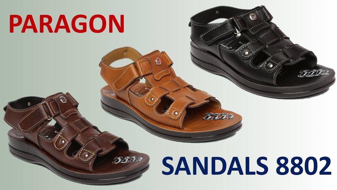 Paragon Sandals 8802 For Men - YouTube