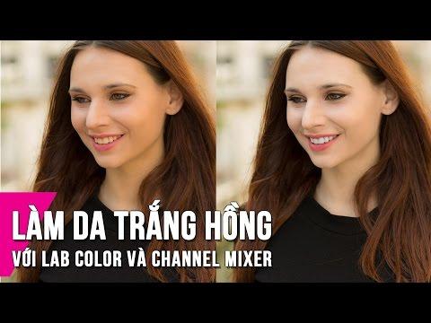 2 Cách Làm Da Trắng Hồng Trong Photoshop