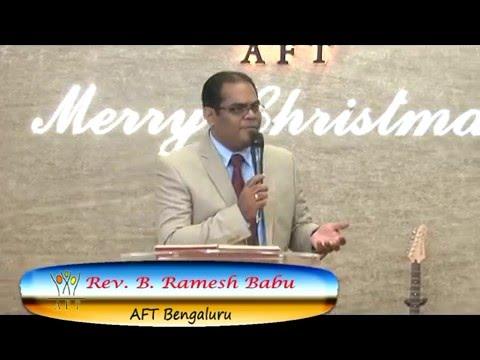 Pastor Ramesh AFT Bangalore Sermon  Meditation#11