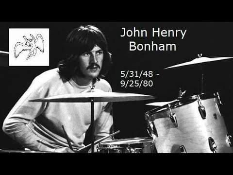 john bonham died this day in 1980 he was just 32 years led zeppelin youtube. Black Bedroom Furniture Sets. Home Design Ideas
