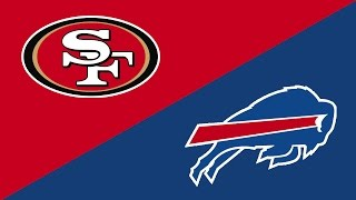 2016 NFL Week 6 Preview: San Francisco 49ers/Buffalo Bills