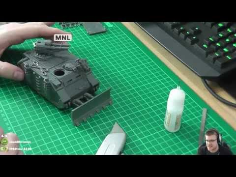 Warhammer 40,000 - How To Model A Space Marine Razorback and Rhino