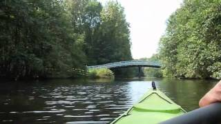 Kanoën in het Amsterdamse Bos