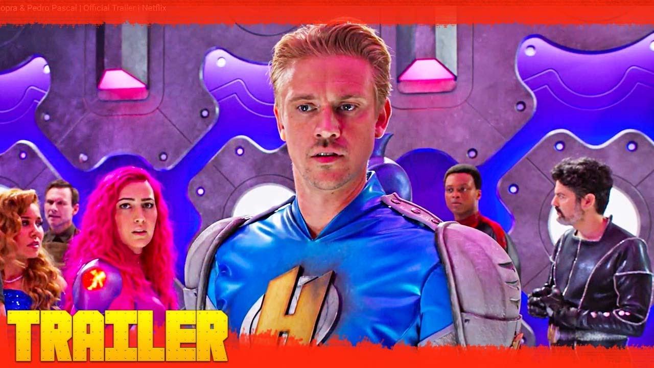 Superheroicos 2021 Netflix Tráiler Oficial Español Latino Youtube