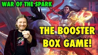 Let's Play The War Of The Spark Booster Box Game! Magic: The Gathering