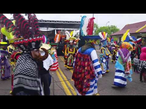 Chinelos De Minneapolis Minnesota Festival 5 de Mayo 2015