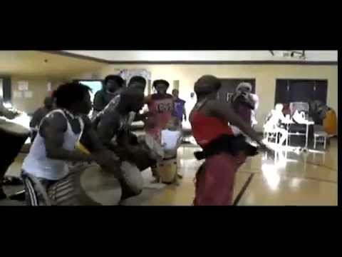 Congolese Dance/Drum Workshop/Camp Introduction Video