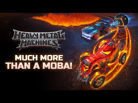 SPOILERS! Join us to see what's coming to Heavy Metal Machines 🤘💣