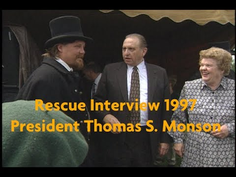 Exclusive Interview with President Thomas S. Monson about the Rescue of the Saints