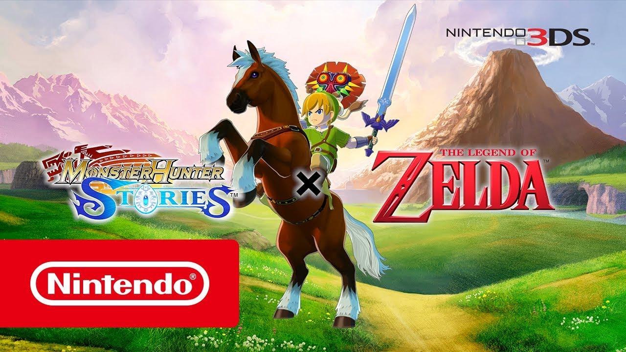 Monster Hunter Stories  Zusammenarbeit mit The Legend of Zelda
