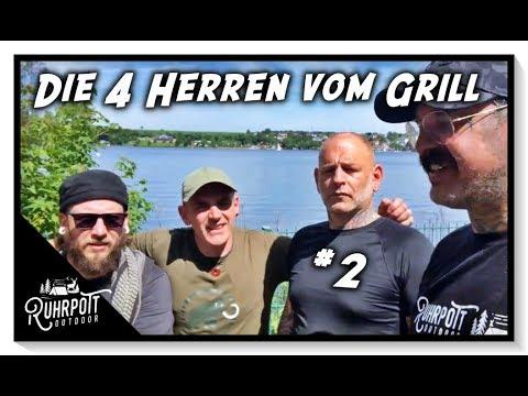 Die 4 Herren vom Grill - 2/2 -  Ruhrpott Outdoor 1815