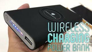 8000 mAh Power Bank with built-in Qu Wireless Charger by Danan Review