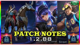 New hero Leomord / New skins / New borders / mobile legends patch notes