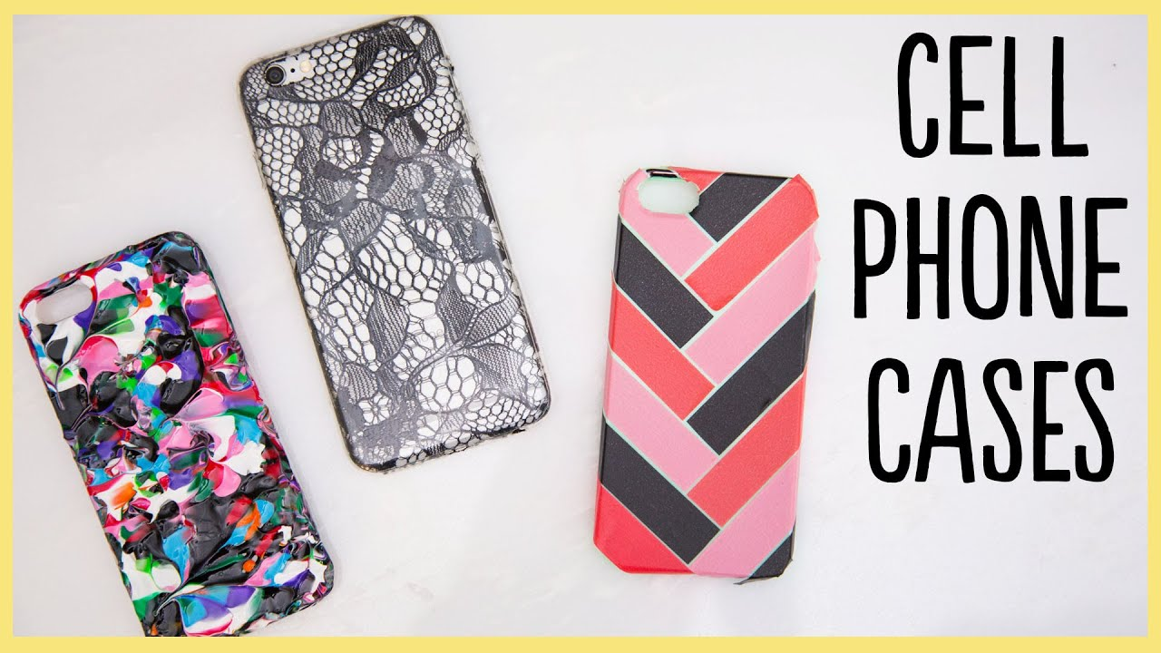 Diy Cell Phone Cases Cute And Easy Youtube