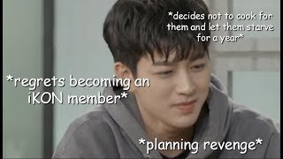 iKON teasing and annoying Yunhyeong compilation