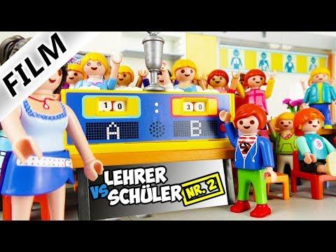 Playmobil Film Deutsch LEHRER VS. SCHÜLER: DAS KOPFRECHNEN-DUELL! WER IST SCHNELLER? Familie Vogel