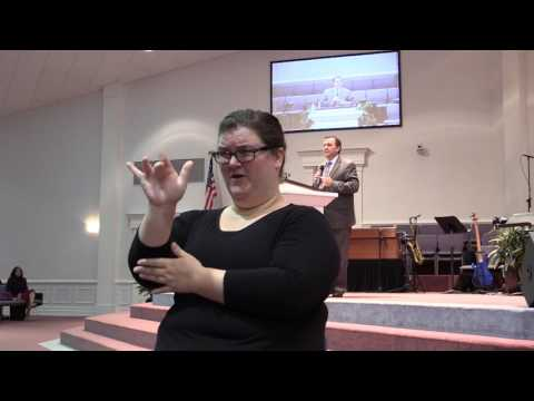 Whatever Happened to Wholiness? sign language interpreted sermon 2/26/17