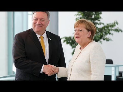 Merkel meets Pompeo in Berlin for talks on host of issues including Iran