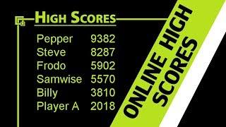 GameMaker Server - Online High Scores
