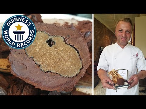 Most expensive chocolate - Guinness World Records
