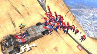 GTA 5 Epic Ragdolls/Spiderman Compilation vol.3 (GTA 5, Euphoria Physics, Fails, Funny Moments)
