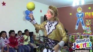 Eventos jotitas Show De Malabares Payaso Gallito