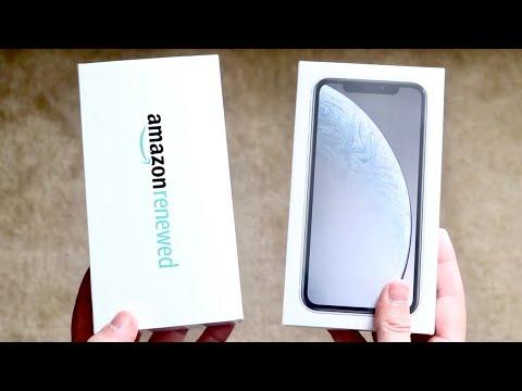 Brand New iPhone Vs Amazon Renewed iPhone!