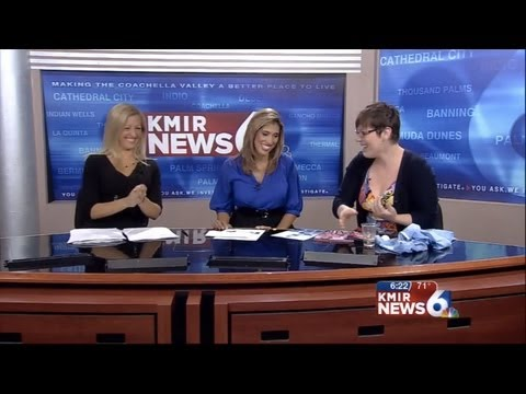Liat Gat - 5 Ways Knitting Can Save Your Life - KMIR6 Palm Springs 6/13/13
