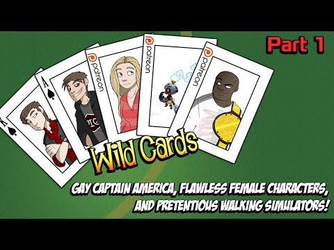 CCS WildCards: Gay Captain America, Marvel's Civil War, and Pretentious Indie Games!