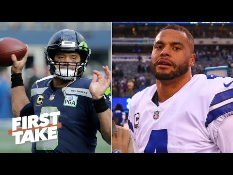 Cowboys vs. Seahawks NFC Wild Card predictions | First Take