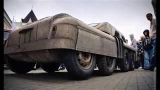 В Челябинске нашли уникальный 8-колесный внедорожник, сделанный на базе ГАЗ-20 Победа