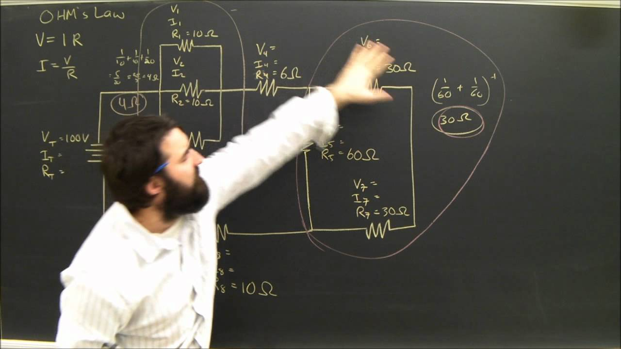 Physics Help Series And Parallel Circuits Electricity Diagrams Part How To Read Electrical Circuit Diagram 5 Youtube