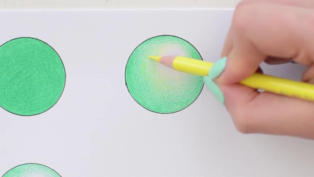 como pintar con lapices de colores  YouTube