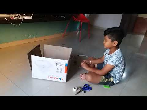 Automatic Door Operation By Master Arjun