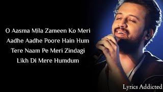 Haan Seekha Maine Jeena Jeena Full Song with Lyrics| Atif Aslam| Varun Dhawan| Yami Gautam| Badlapur