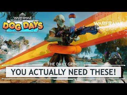 Warframe: Dog Days, NEW REWARDS & Tips & Tricks! [thedailygrind]